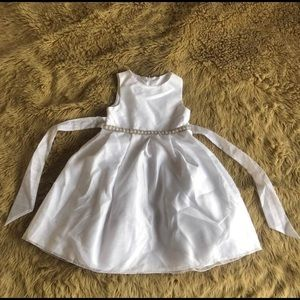2/$30⭐️ White Party Dress Girls 6x
